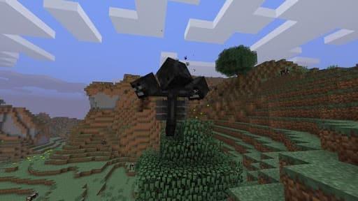 Механика боя иссушителя Minecraft