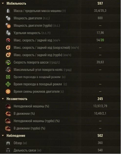 Т-34-85 в World of Tanks мобильность