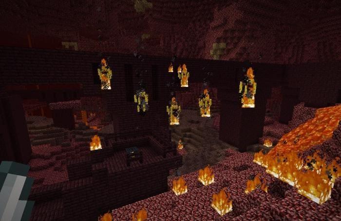 Видимость ифрита Minecraft