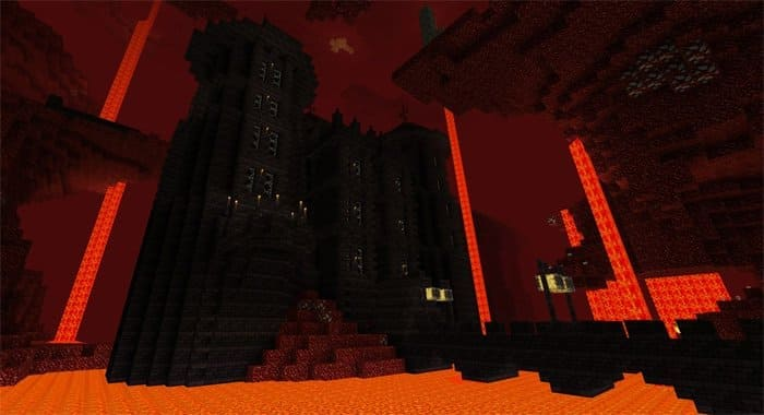 Как попасть в ад в игре Minecraft