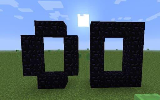 Портал в нижний мир Minecraft