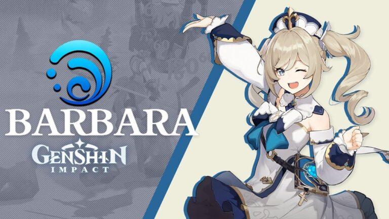Гайд на Барбару Genshin Impact: лучшие билды