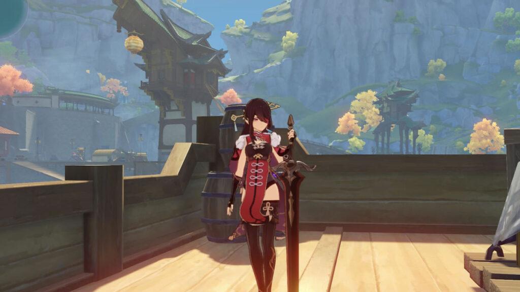 Бэй Доу Genshin Impact в игре