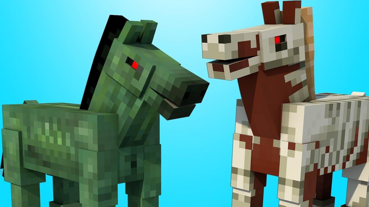 Зомби лошадь Майнкрафт гайд