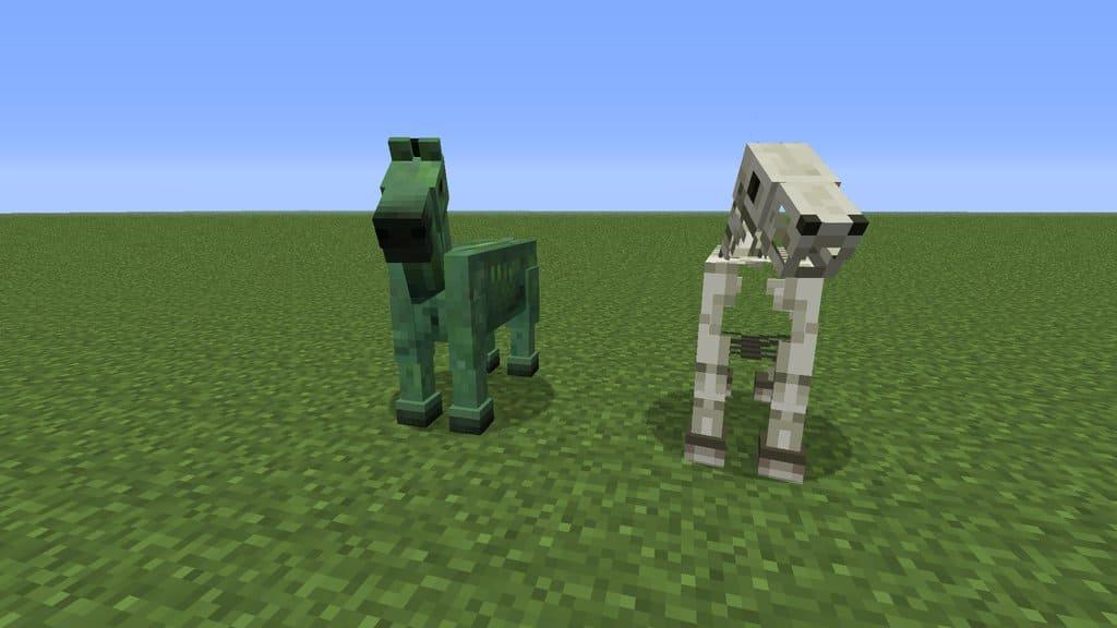 Как оседлать зомби-лошадь в Minecraft