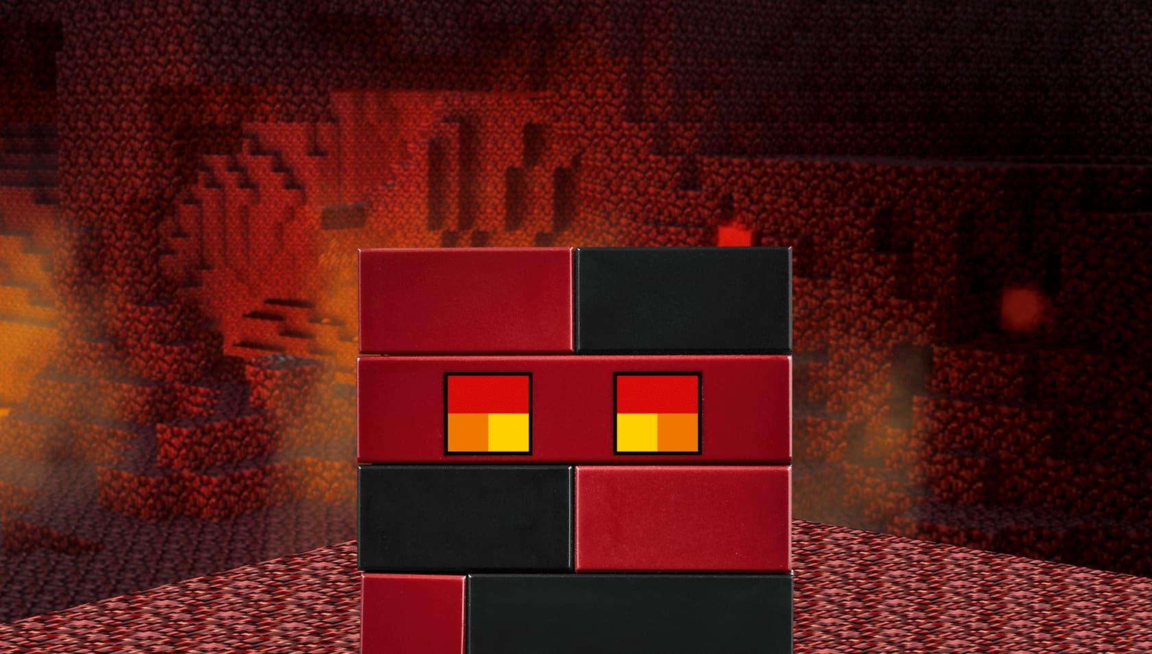 Лавовый куб Minecraft гайд