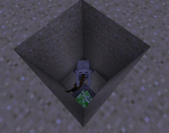 Как выбивать пластинки с криперов в Minecraft