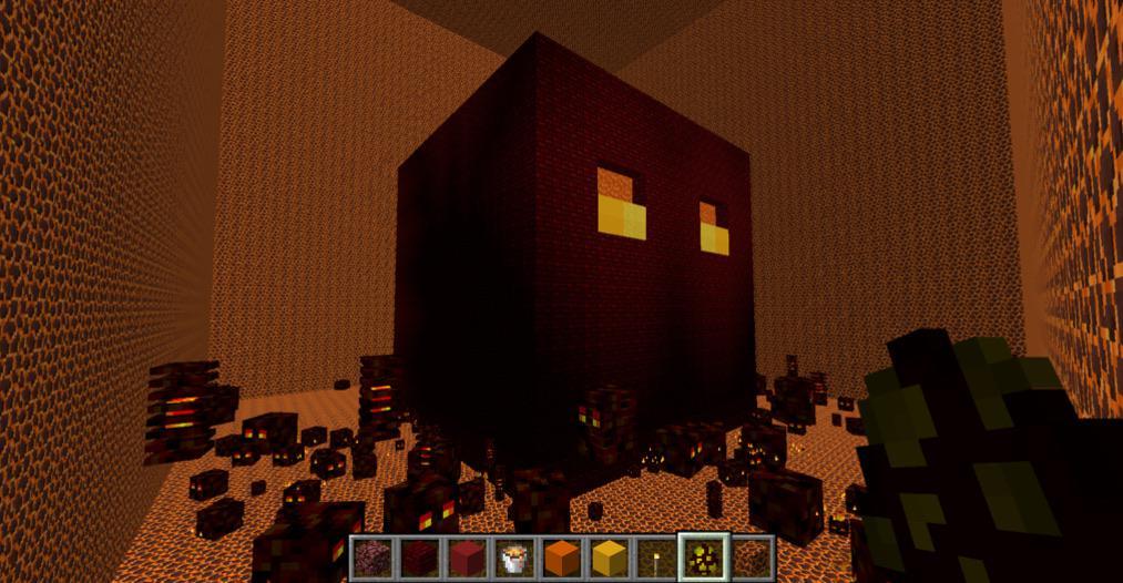 Лавовый куб Minecraft секреты