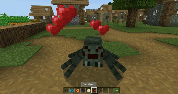 Как приручить пауков в игре Майнкрафт