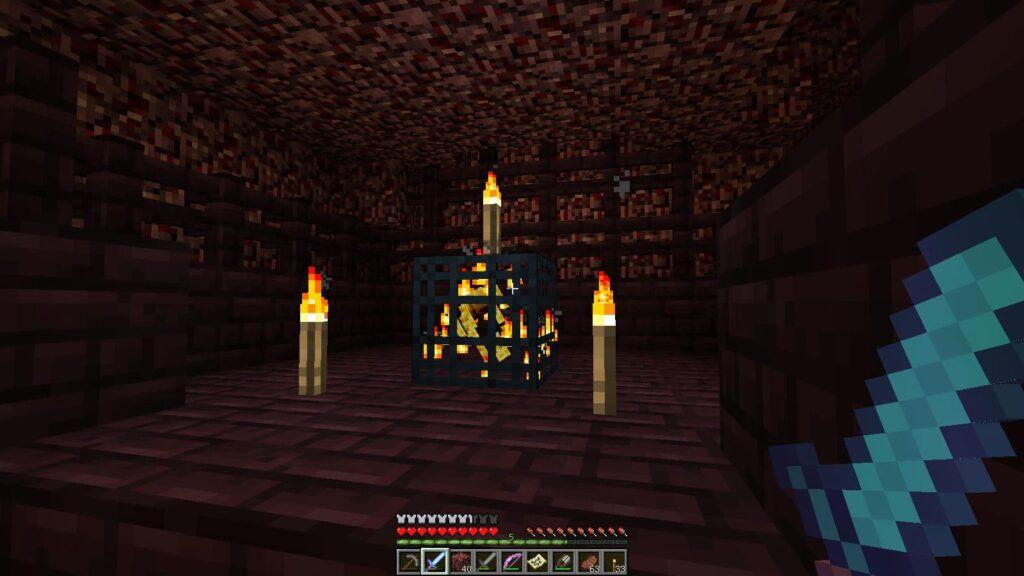 Адская крепость Майнкрафт секреты