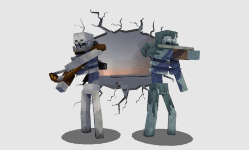 Моды на зимогора Minecraft
