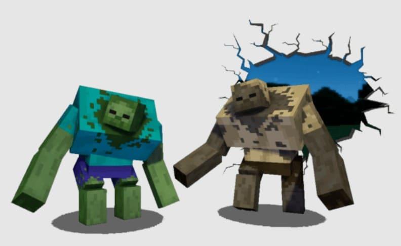 Моды на кадавра Minecraft