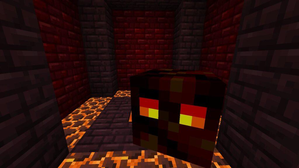Лавовый куб (магмовый) Майнкрафт