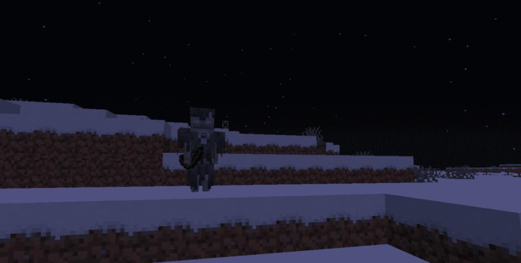 Зимогор в Minecraft