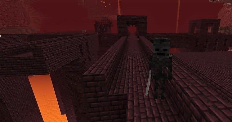 Адская крепость Майнкрафт: как найти и телепортироваться