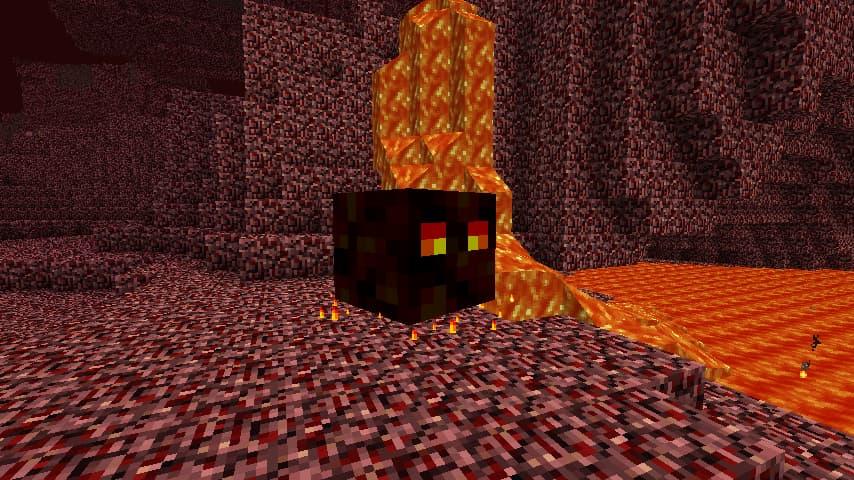 Где спавнится магмовый куб майнкрафт