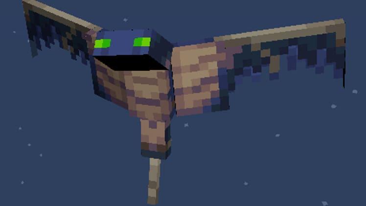 Как убить фантома в Minecraft