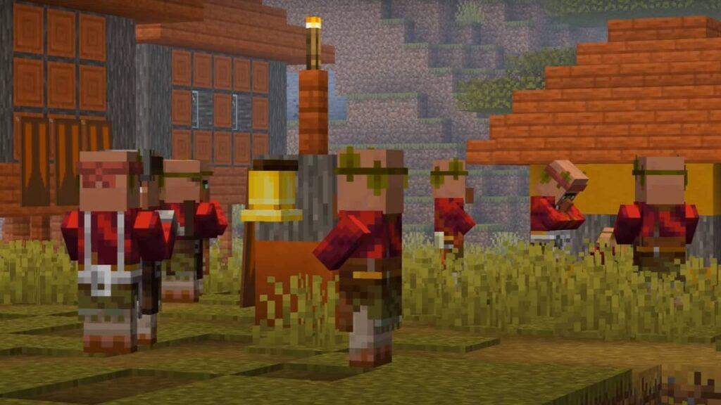 Виды жителей в Minecraft