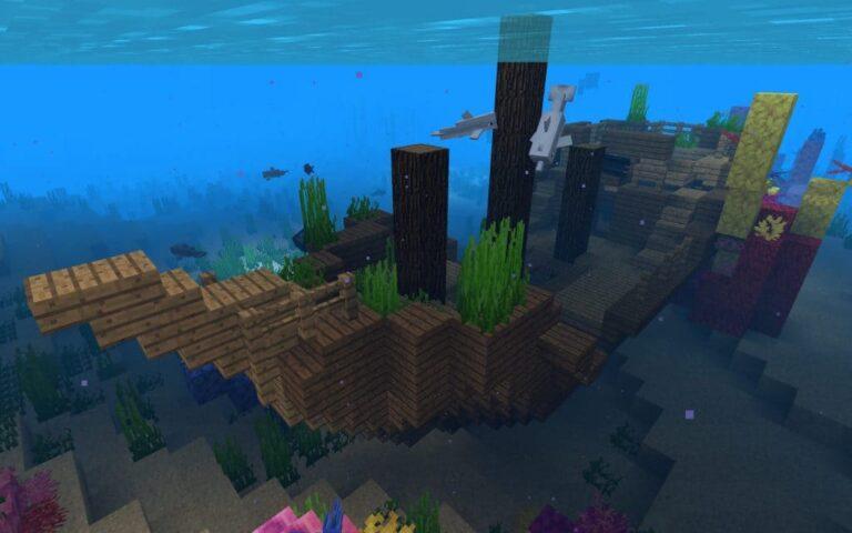 Затонувший корабль Minecraft: гайд для игроков